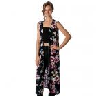 CP8568 Flower Long Kimono