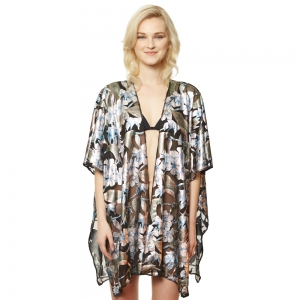 CP9520 Floral Burn-Out Cover up