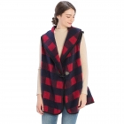 CP9905 Buffalo Plaid Vest with Hook, Red