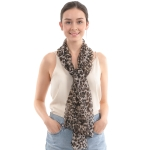 CS0016 Leopard Pattern Light-weight Scarf