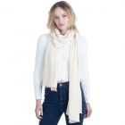 CS0155 Basic Solid Color Winter Scarf, Beige