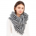 CS1101 Hounds-tooth Pattern Scarf