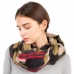 CS1106 Camouflage Pattern with Stripes Edge Scarf