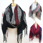 CS2506 Plaid Pattern Soft Scarf