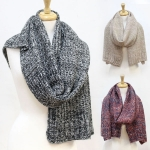 CS2533 Multi Color Knit Scarf