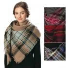 CS6003 Striped Square Scarf/shawl