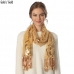 CS6031 Rose Pattern Sequin Party Shawl