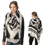 CS6060 Aztec Pattern Square Scarf
