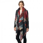 CS6064 Patchwork Pattern Scarf