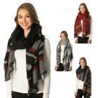 CS6092 Stripe Blanket Scarf