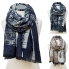 CS6104 Abstract Pattern oblong Scarf