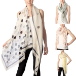 CS7024 Polka Dots Pattern Scarf