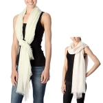 CS7037 Striped Oblong Scarf