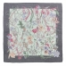 CS7056 Mixed Floral Print Square Scarf