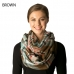 CS7201 Multi Colored Plaid Infinity Scarf