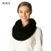 CS7212 Solid Faux Fur Infinity Scarf