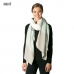 CS7223 Striped Color Block Oblong Scarf