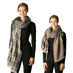 CS7228 Mixed Pattern Oblong Scarf