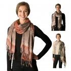 CS7254 Multi Colored Pattern Pashmina