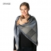 CS7256 Multi Colored Patchwork Square Scarf