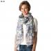 CS8302 Floral Print Viscose Scarf