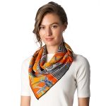 CS8317 Square Neck Scarf