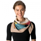 CS8318 Square Neck Scarf