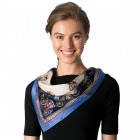 CS8321 Silk Square Neck Scarf