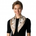 CS8322 Silk Square Neck Scarf