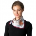 CS8323 Silk Square Neck Scarf