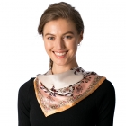 CS8324 Silk Square Neck Scarf