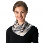 CS8325 Silk Square Neck Scarf
