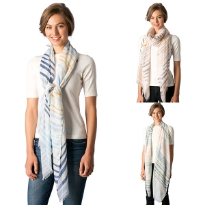 CS8328 Multi Color Wave Scarf