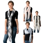 CS8334 Gradation Stripe Scarf