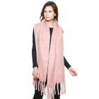 CS8405 Soft Brushed Oversized Scarf, Pink