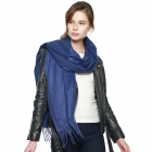 CS8440 Cashmere Feel Solid Scarf, Navy
