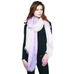 CS8441 Two Tone Tie Dye Scarf, Purple