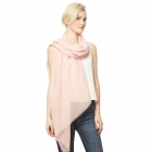 CS9111 Solid Scarf w/Sequin Accents, Pink