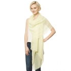 CS9111 Solid Scarf w/Sequin Accents, Yellow