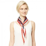 CS9135 Pleated Neckerchief Scarf