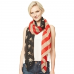 CS9139 Oblong Flag Scarf