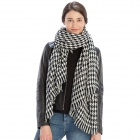 CS9229 Hounds-tooth Pattern Scarf