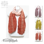 CSH1119 Flower Lace Scarf