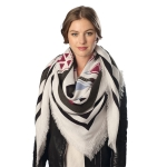 CS6023 Aztec Pattern Square Scarf