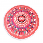 KK240-117 ROUND BEACH TOWEL MAT