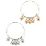 EBG1006F Hoop Style Bracelet w/Turtle Charms (Dozen)