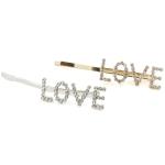 ESP1327B Lettering Hair Pin (Love-Dozen Pack)