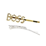 ESP1380D Lettering Hair Pin (Boss-Dozen Pack)