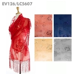 EV126/LC5607 Sequin Shawl