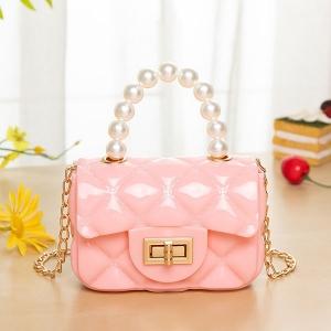 FB028 Solid Micro Satchel Bag, Pink